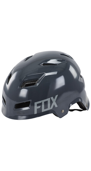 Fox Transition Hardshell Helmet Men charcoal